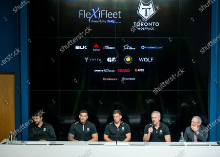 Editorial picture of Toronto Wolfpack Media Day. Manchester, UK - 22 Jan 2020