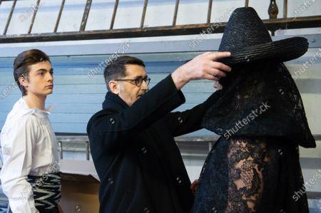 Editorial photo of Franck Sorbier - Runway - Paris Fashion Week Ready to Wear S/S 2020, France - 22 Jan 2020
