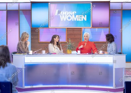 Ruth Langsford, Stacey Solomon, Denise Welch and Saira Khan