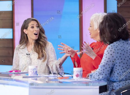 Stacey Solomon, Denise Welch and Saira Khan