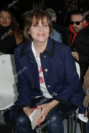 Stock Photo of Emmanuelle Seigner in the front row