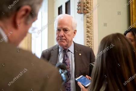 Editorial picture of Senate impeachment trial of US President Donald J. Trump, Washington, USA - 22 Jan 2020