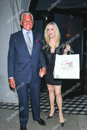 George Hamilton and Kelly Day