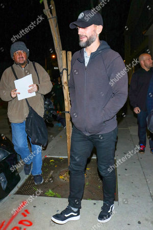 Editorial photo of CM Punk out and about, Los Angeles, USA - 21 Jan 2020