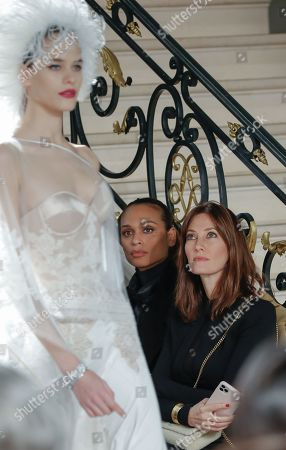 Editorial photo of Alexis Mabille show, Front Row, Spring Summer 2020, Haute Couture Fashion Week, Paris, France - 21 Jan 2020