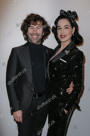 Alexis Mabille and Dita Von Teese