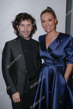 Alexis Mabille and Lilou Fogli