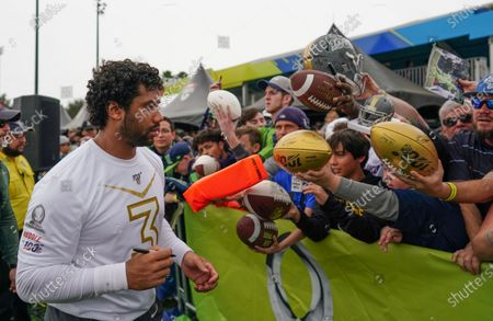 Editorial picture of NFL Pro Bowl Previews, ESPN Wide World of Sport Complex, Orlando, Florida, USA - 23 Jan 2020