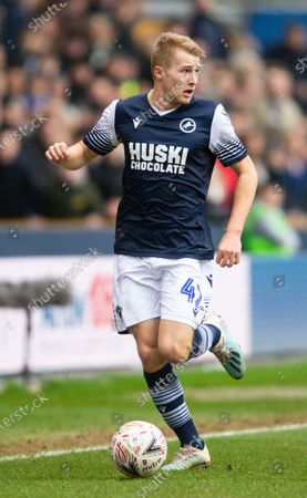 Editorial photo of Millwall v Sheffield United, Emirates FA Cup Fourth Round, Football, The Den, London, UK - 25 Jan 2020