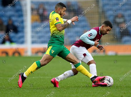 Editorial image of Burnley v Norwich City, Emirates FA Cup Fourth Round, Football, Turf Moor, UK - 25 Jan 2020