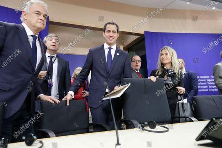 Editorial image of Juan Guaido, President of the National Assembly of Venezuela, visits EU Parliament, Brussels, Belgium - 22 Jan 2020