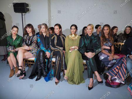 Audrey Dana, Marina Hands, Sveva Alviti, Nieves Alvarez, Sonam Kapoor, Molly Sims and Joan Smalls