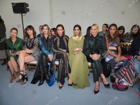 Audrey Dana, Marina Hands, Sveva Alviti, Nieves Alvarez, Sonam Kapoor, Molly Sims and Joan Smalls