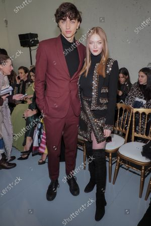 Gavin Casalegno and Larsen Thompson