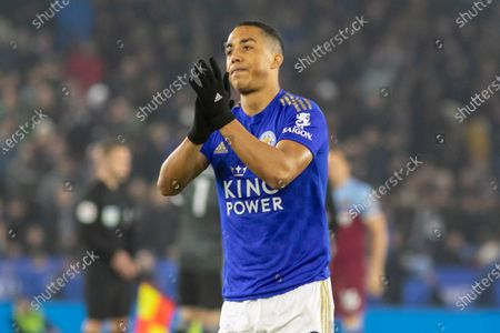Youri Tielemans (8) after the Premier League match between Leicester City and West Ham United at the King Power Stadium, Leicester