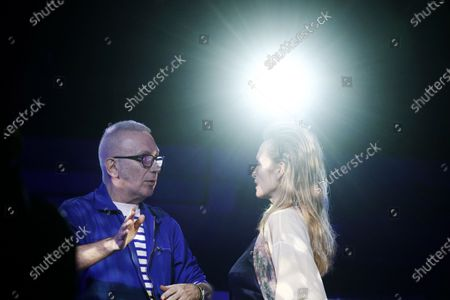 Editorial photo of Jean Paul Gaultier - Rehearsals - Paris Haute Couture Fashion Week S/S 2020, France - 22 Jan 2020