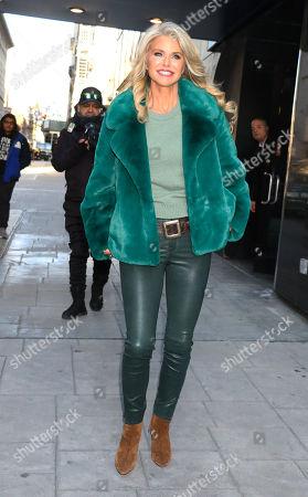 Stock Image of Christie Brinkley