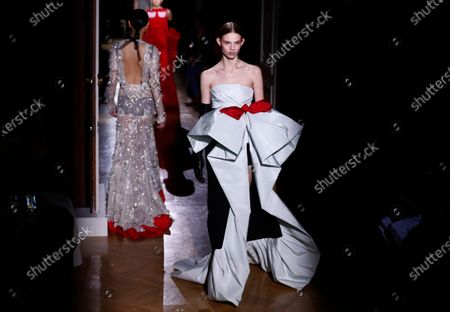 Editorial image of Valentino - Runway - Paris Haute Couture Fashion Week S/S 2020, France - 22 Jan 2020