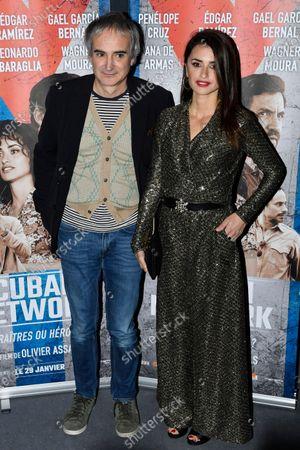 Editorial image of Cuban Network film premiere in Paris, France - 22 Jan 2020