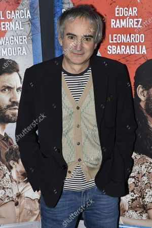 French director Olivier Assayas poses during the premiere of 'Cuban Network' (Wasp Network) in Paris,? France, 22 January 2020. The movie by Assayas will be released in French theaters on 29 January 2020.