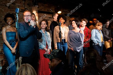 Editorial image of 'Girl From the North Country' musical on Broadway, cast, New York, USA - 21 Jan 2020