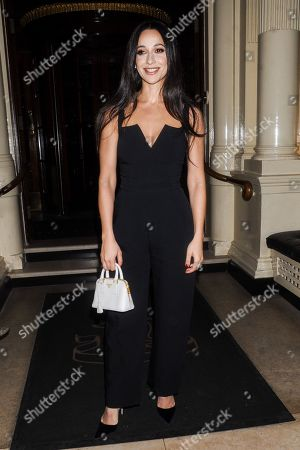 Editorial image of Hourglass launch party, Connaught Hotel, London, UK - 22 Jan 2020