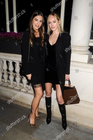 Amber Le Bon and Jean Campbell