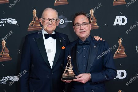 Stock Picture of Pieter Van Vollenhoven and Fred Boot