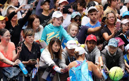 Editorial picture of Tennis Australian Open 2020, Melbourne, Australia - 23 Jan 2020