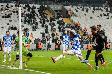 Editorial picture of Besiktas AS v BB Erzurumspor, Turkish Cup, Football, Vodafone Park, Istanbul, Turkey - 22 Jan 2020