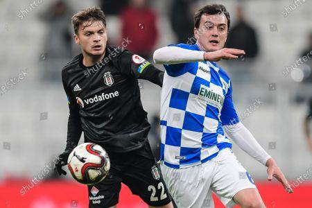 Editorial photo of Besiktas AS v BB Erzurumspor, Turkish Cup, Football, Vodafone Park, Istanbul, Turkey - 22 Jan 2020