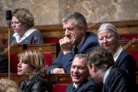 Jean Lassalle and Agnes Thill