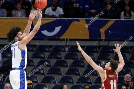 Editorial image of Boston College Basketball, Pittsburgh, USA - 22 Jan 2020