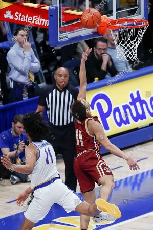 Editorial picture of Boston College Basketball, Pittsburgh, USA - 22 Jan 2020