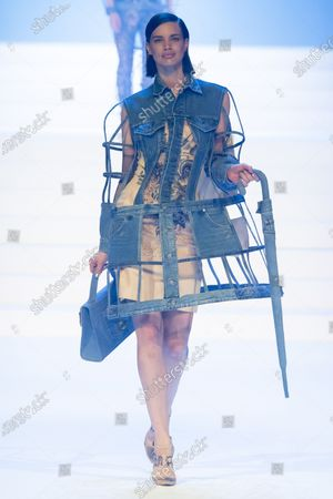 Editorial image of Jean Paul Gaultier show, Runway, Spring Summer 2020, Haute Couture Fashion Week, Paris, France - 22 Jan 2020