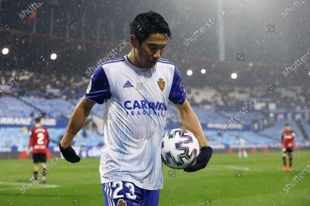 Editorial image of Real Zaragoza v RCD Mallorca, Copa del Rey, Football, La Romareda, Zaragoza, Spain - 21 Jan 2020