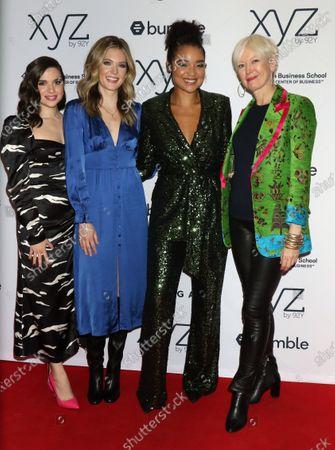 Katie Stevens, Meghann Fahy, Aisha Dee and Joanna Coles