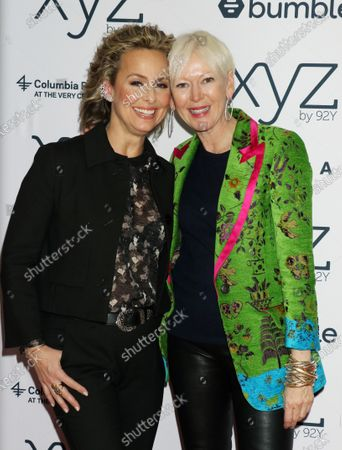 Melora Hardin and Joanna Coles
