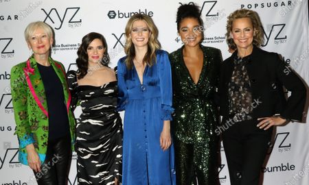Joanna Coles, Katie Stevens, Meghann Fahy, Aisha Dee and Melora Hardin