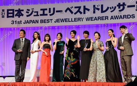 Editorial picture of Japan Best Jewellery Wearer Awards Ceremony, Tokyo, Japan - 21 Jan 2020