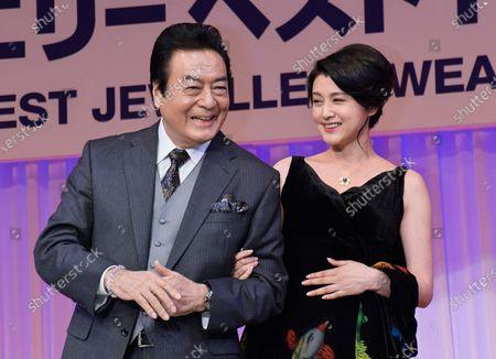 Stock Photo of Hideki Takahashi and Norika Fujiwara