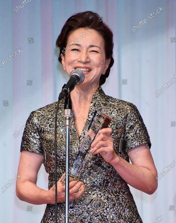 Editorial image of Japan Best Jewellery Wearer Awards Ceremony, Tokyo, Japan - 21 Jan 2020