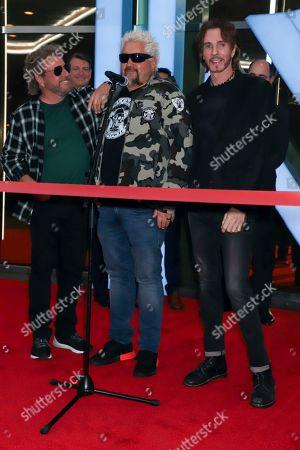 Sammy Hagar, Guy Fieri and Rick Springfield