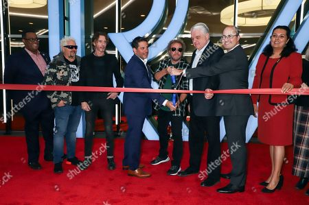 Guy Fieri, Rick Springfield, Sammy Hagar and guests