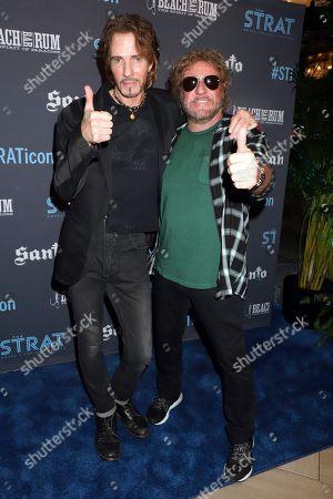 Rick Springfield and Sammy Hagar