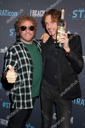 Sammy Hagar and Rick Springfield