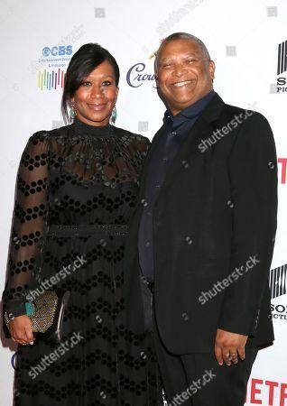 Nicole Avant and Reginald Hudlin