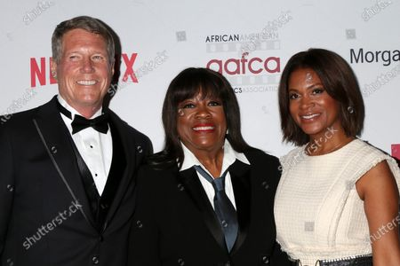 Chaz Ebert and guests