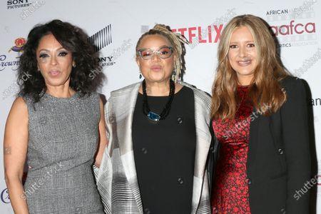 Debra Martin Chase, Kasi Lemmons, and Daniela Taplin Lundberg
