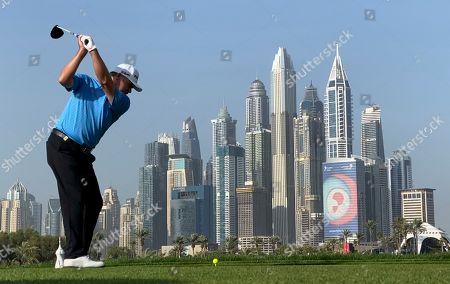 Editorial photo of Desert Classic Golf, Dubai, United Arab Emirates - 23 Jan 2020